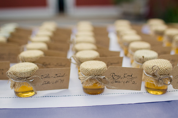 Honey Jar Place Cards