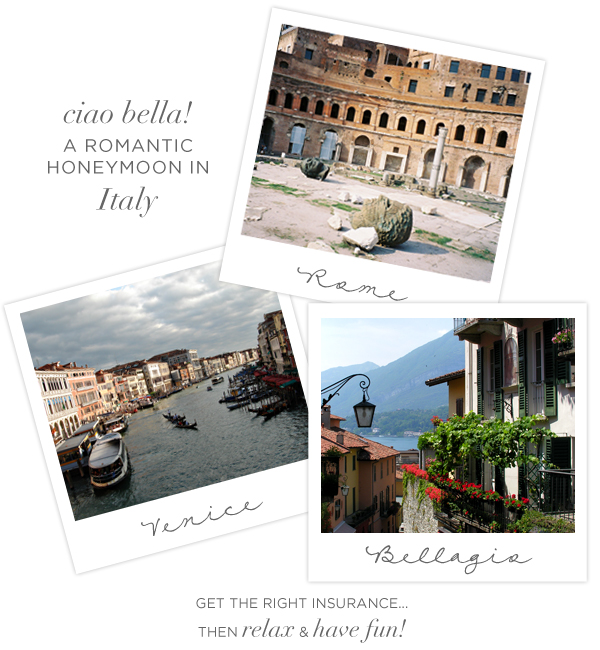 Italy Honeymoon Ideas