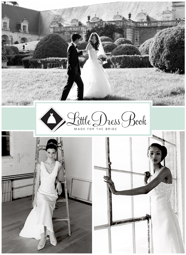 Little Dress Book Collage without Ribbon