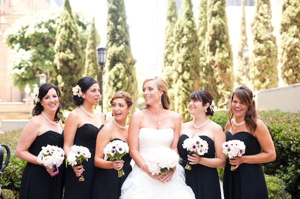 Long Black Bridesmaid Dresses