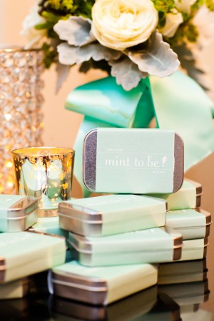 Mints in Silver Tins Wedding Favors