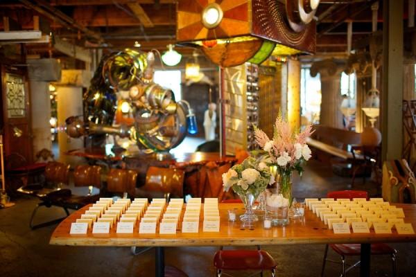 Modern Architectural Chicago Wedding Salvage One