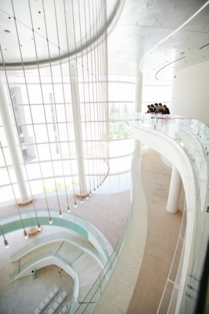 Modern Museum Wedding Ceremony