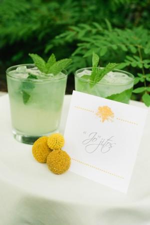 Mojito Specialty Reception Cocktail
