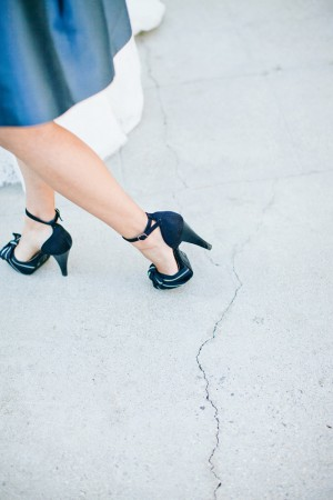 Navy Bridesmaids Shoes