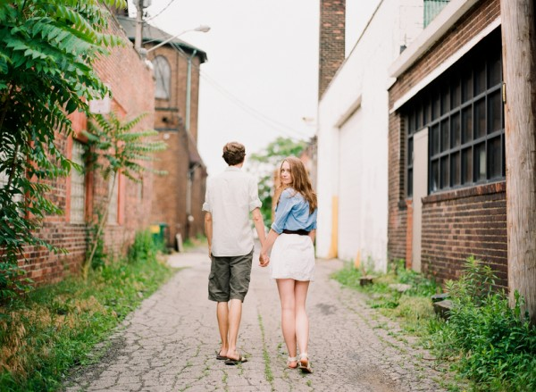 Ohio City Engagement Session Arielle Doneson