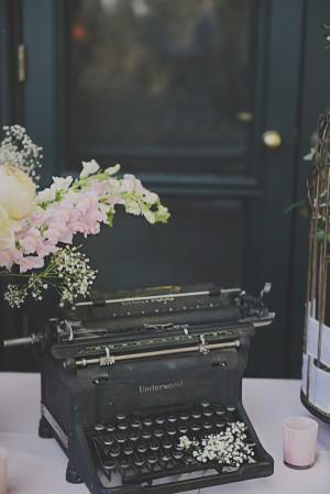 Old Typewriter Decor