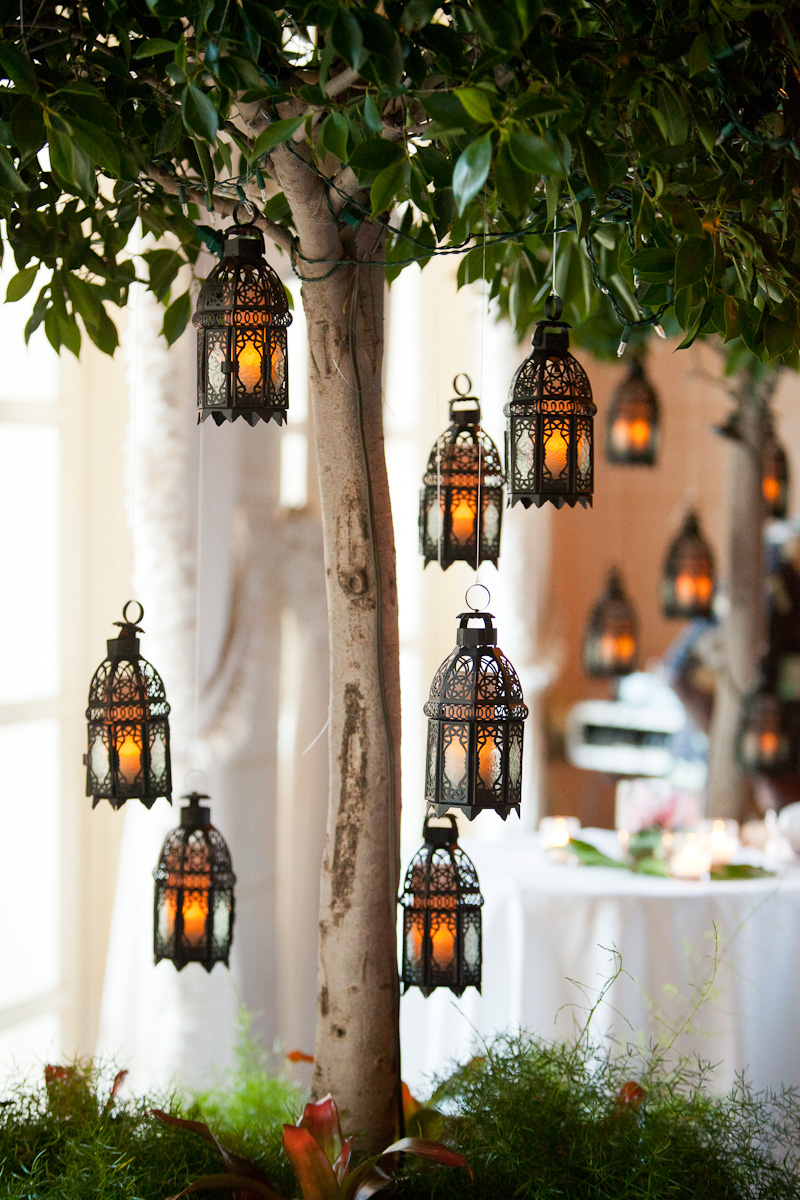 Old World Hanging Lanterns in Trees - Elizabeth Anne Designs: The ...