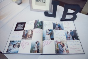 Personalized Photo Wedding Guest Book 1