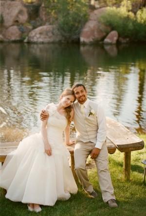 Pretty Lakeside Wedding Michelle Cross e1347226446352