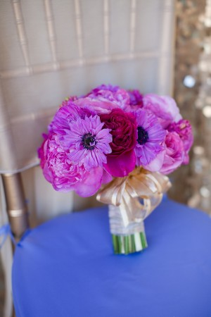 Purple and Fuchsia Bouquet