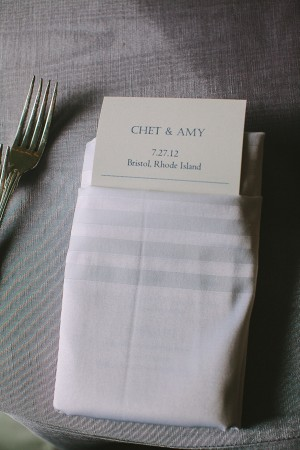 Reception Menu Cards