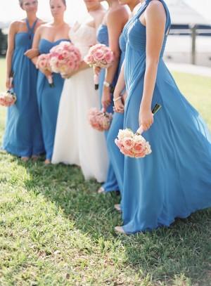 Robins Egg Blue Bridesmaids Dresses
