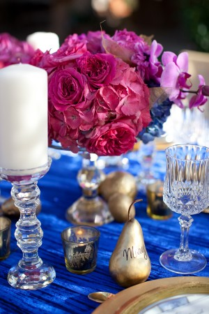 Royal Blue Wedding Linens