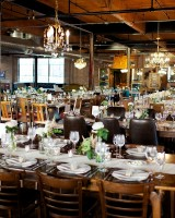 Modern Architectural Wedding Reception