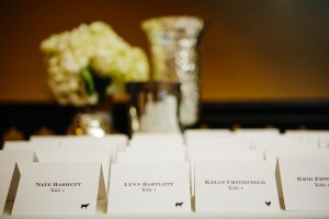 Simple Reception Place Cards