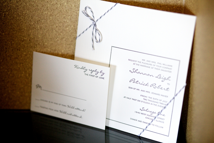 Simple Wedding Invitation Elizabeth Anne Designs The Wedding Blog