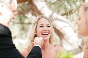 Smiling Bride Close Up