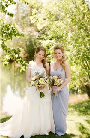 Soft Blue Bridesmaids Dresses