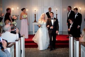 Strapless Silk Organza Wedding Gown 1