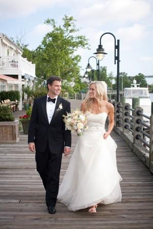 Strapless Silk Organza Wedding Gown 2