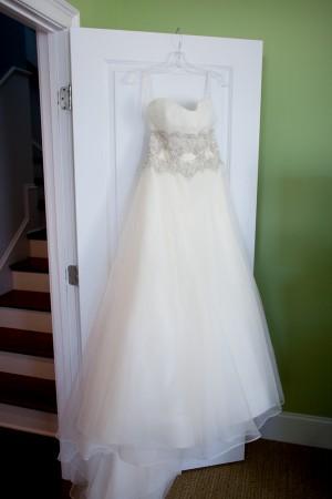 Strapless Silk Organza Wedding Gown 3