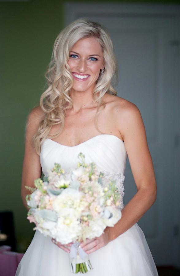 Strapless Silk Organza Wedding Gown - Elizabeth Anne Designs: The ...