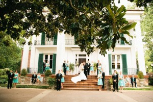 Tiffany Blue Bridesmaids Dresses 1