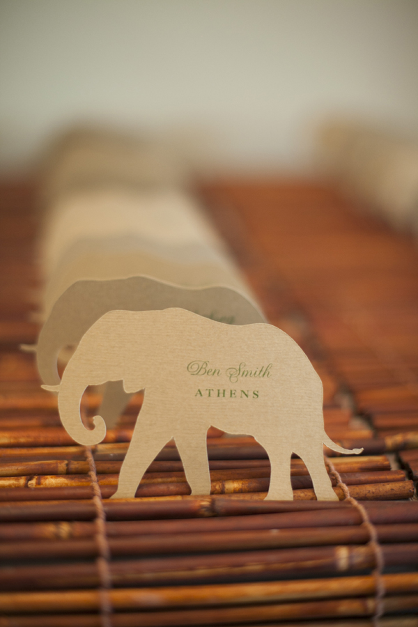 Travel Inspired Escort Cards