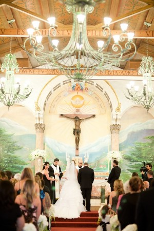 Wedding Ceremony in Old Catholic Church