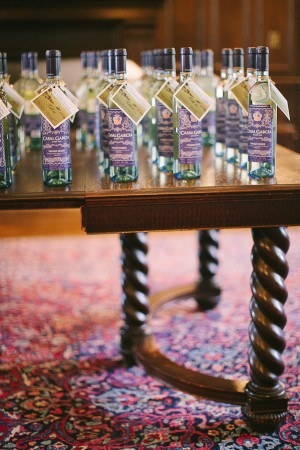 Wine Bottle Place Cards