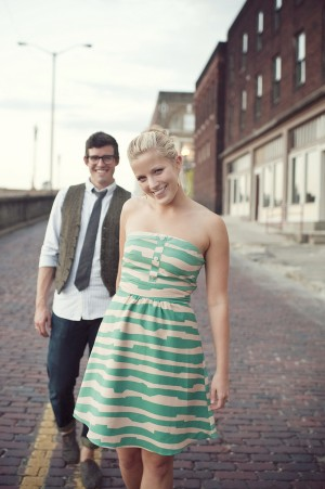 City Engagement Session Jennie Andrews Photography 1
