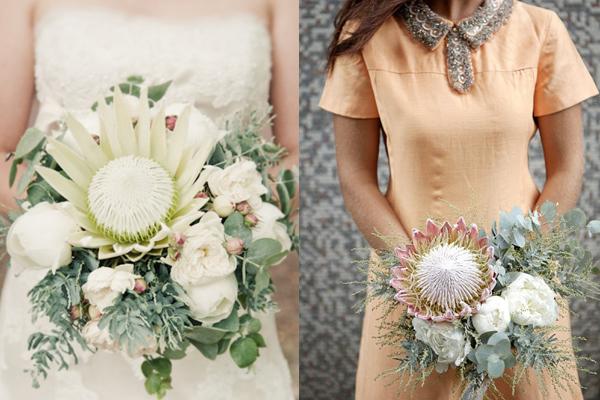 Cool Melon and Honeydew Wedding Flowers