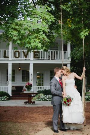 Couple Wedding Portrait By Kristyn Hogan Photography