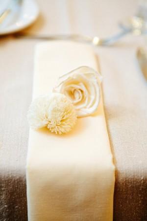 Cream Table Runner