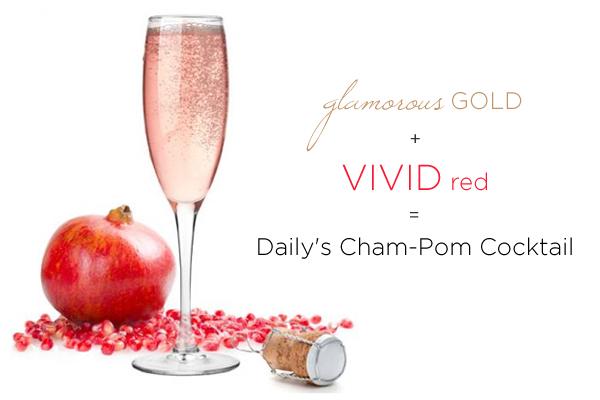 Dailys Cham Pom Cocktail