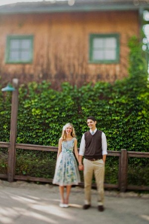 Disneyland Engagement Session Sloan Photographers