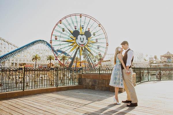 Disneyland Engagement Session Sloan Photographers 31