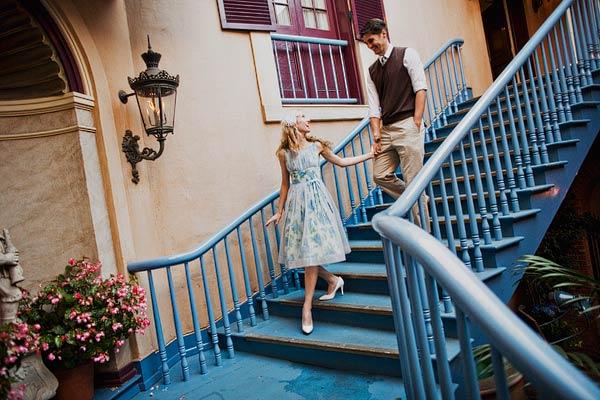 Disneyland Engagement Session Sloan Photographers 4