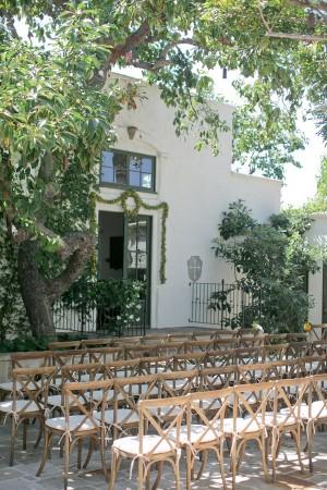 Elegant Outdoor Villa Wedding Ceremony