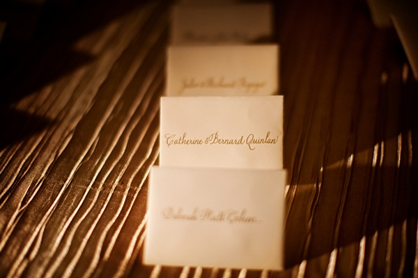 Elegant Reception Place Cards