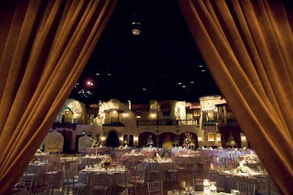 Formal Ballroom Wedding Reception