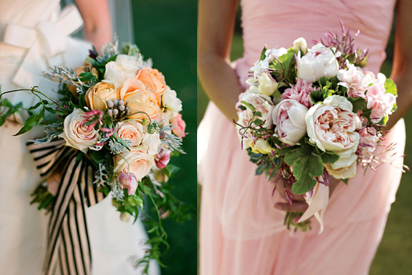Garden Rose Jasmine Bouquets