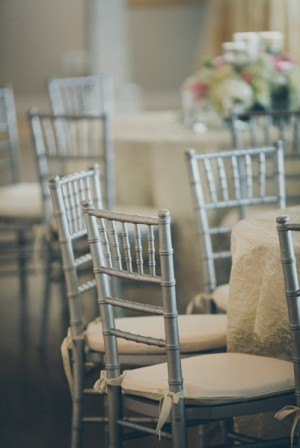 Gray Bamboo Reception Chairs