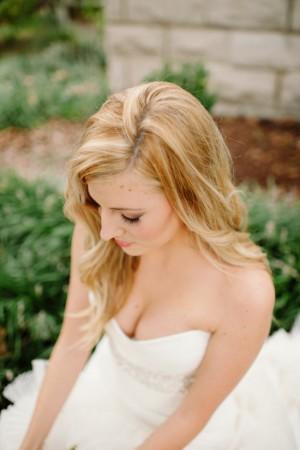 Hair Worn Down Bridal Hair Style