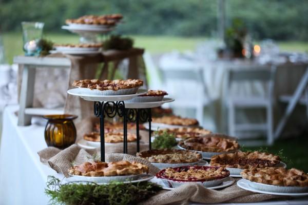 Homemade Pie Wedding Desert