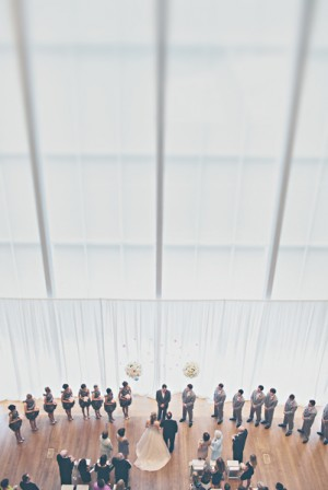 Modern Indoor Wedding Ceremony Ideas