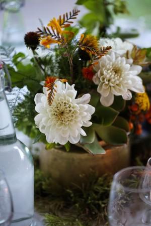 Natural Wedding Centerpiece