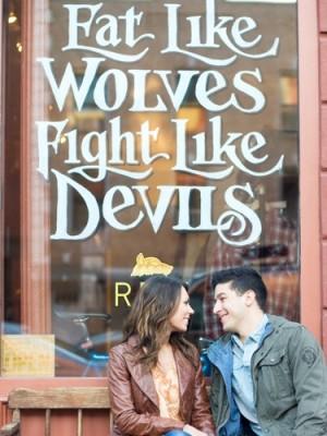 New York Storefront Engagement Photo 2