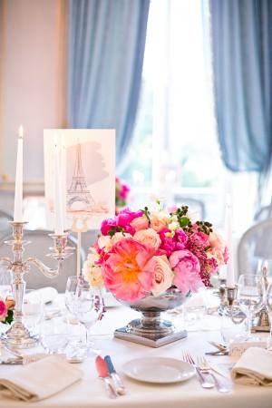 Paris Wedding Decoration Inspiration